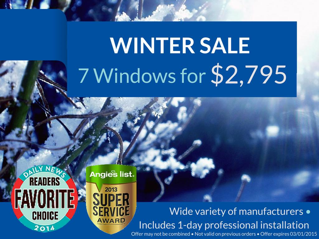 FrontlineWindows Winter Sale