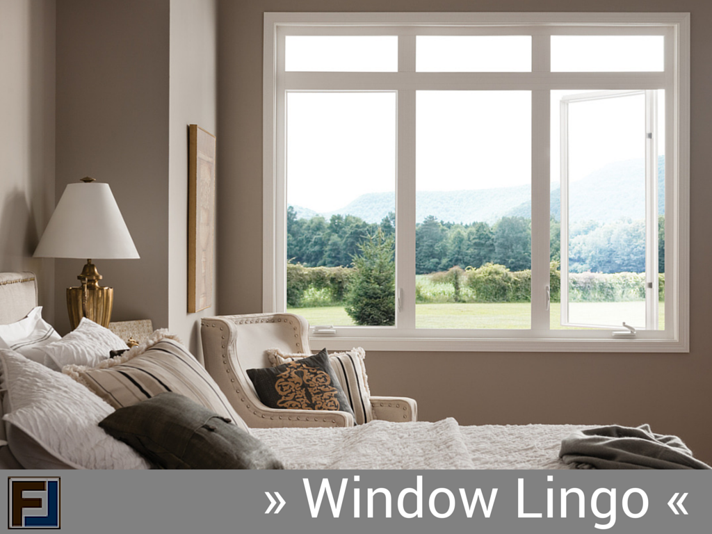 window replacement terminology